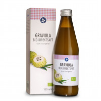 GRAVIOLA 100% Bio Direktsaft, 330 ML, Aleavedis Naturprodukte GmbH