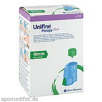 Unifine Pentips Plus 4mm 32G, 100 ST, Owen Mumford GmbH
