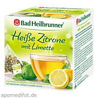 Bad Heilbrunner Heiße Zitrone mit Limette im Pyb, 15X2.5 G, Bad Heilbrunner Naturheilm. GmbH & Co. KG