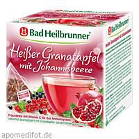 Bad Heilbrunner Heißer Granatapfel m. Johannisbeer, 15X2.5 G, Bad Heilbrunner Naturheilm. GmbH & Co. KG