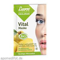 Luvos Heilerde Vital Maske Naturkosmetik, 2X7.5 ML, Heilerde-Gesellschaft Luvos Just GmbH & Co. KG