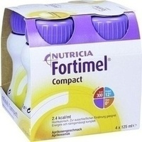 Fortimel Compact 2.4 Aprikosengeschmack, 4X125 ML, Nutricia Milupa GmbH