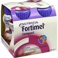 Fortimel Compact 2.4 Waldfruchtgeschmack, 4X125 ML, Nutricia Milupa GmbH