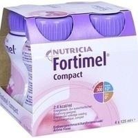 Fortimel Compact 2.4 Erdbeergeschmack, 4X125 ML, Nutricia Milupa GmbH