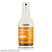 Fußspray BioFit Pflanzlich, 100 ML, Casida GmbH & Co. KG