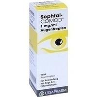 SOPHTAL-COMOD 1 mg/ml Augentropfen, 10 ML, URSAPHARM Arzneimittel GmbH