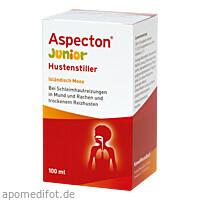 Aspecton Junior Hustenstiller Isländisch Moos, 100 ML, Hermes Arzneimittel GmbH