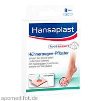 Hansaplast Hühneraugen-Pflaster, 8 ST, Beiersdorf AG
