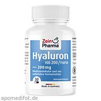 Hyaluron Forte HA 200, 30 Stück, Zein Pharma - Germany GmbH