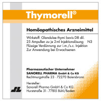 Thymorell, 25X2 ML, Sanorell Pharma GmbH & Co. KG