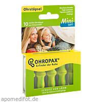 OHROPAX Mini Soft Schaumstoff-Stöpsel, 10 ST, Ohropax GmbH