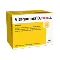 Vitagamma D3 2.000 I.E.Vitamin D3 NEM, 200 ST, Wörwag Pharma GmbH & Co. KG