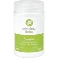 mykoletal detox Basenbad, 350 G, Mykoletal System GmbH