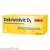 Dekristolvit D3 4000 I.E., 90 ST, Hübner Naturarzneimittel GmbH