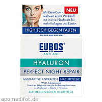 EUBOS HYALURON Perfect Night Repair Creme, 50 ML, Dr.Hobein (Nachf.) GmbH