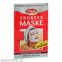 Erdbeer Maske, 1 ST, A. Moras & Comp. GmbH & Co. KG