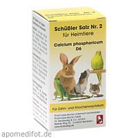 SCHÜSSLER SALZ Nr.2 Calcium phos.D 6 f.Heimtiere, 200 ST, Dr.RECKEWEG & Co. GmbH