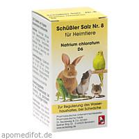 SCHÜSSLER SALZ Nr.8 Natrium chlor.D 6 f.Heimtiere, 200 ST, Dr.RECKEWEG & Co. GmbH