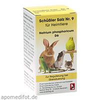 SCHÜSSLER SALZ Nr.9 Natrium phos.D 6 f.Heimtiere, 200 ST, Dr.RECKEWEG & Co. GmbH
