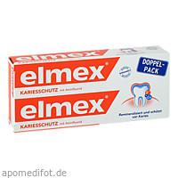elmex Zahnpasta Doppelpack, 2X75 ML, Cp Gaba GmbH