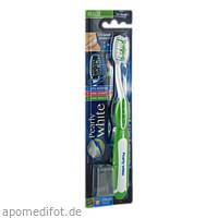Pearly White Zahnbürste mit aufhellender Wirkung, 1 ST, Megadent Deflogrip Gerhard Reeg GmbH