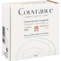 AVENE Couvrance Kompakt Cr.-Make-up reich. Sand3.0, 10 G, PIERRE FABRE DERMO KOSMETIK GmbH GB - Avene
