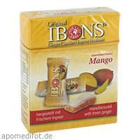 IBONS Mango Ingwerkaubonbons Orig.Schachtel, 60 G, Arno Knof GmbH