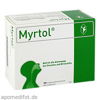 Myrtol, 100 ST, G. Pohl-Boskamp GmbH & Co. KG