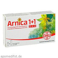 Arnica 1+1 DHU, 1 P, Dhu-Arzneimittel GmbH & Co. KG