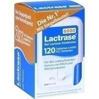 Lactrase 6000 FCC Tabl. im Klickspender Doppelpack, 2X120 ST, Pro Natura Gesellschaft Für Gesunde Ernährung mbH