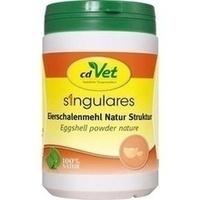 Singulares Eierschalenmehl Natur Struktur vet., 1 KG, cdVet Naturprodukte GmbH