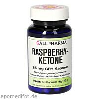 Raspberryketone 25 mg GPH Kapseln, 60 ST, Hecht-Pharma GmbH