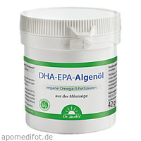 DHA-EPA-Algenöl Dr. Jacob's, 60 ST, Dr.Jacobs Medical GmbH