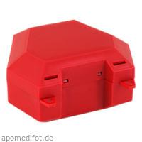 Zahnspangenbox mit Kordel Farbe Rot, 1 ST, Megadent Deflogrip Gerhard Reeg GmbH