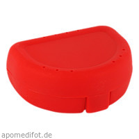 Zahnspangenbox Small Farbe Rot, 1 ST, Megadent Deflogrip Gerhard Reeg GmbH