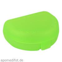 Zahnspangenbox Small Farbe Grün Transparent, 1 ST, Megadent Deflogrip Gerhard Reeg GmbH