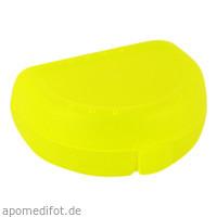 Zahnspangenbox Small Farbe Gelb Transparent, 1 ST, Megadent Deflogrip Gerhard Reeg GmbH