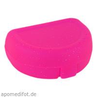 Zahnspangenbox Small Farbe Pink Transparent, 1 ST, Megadent Deflogrip Gerhard Reeg GmbH