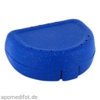 Zahnspangenbox Small Farbe Dunkelblau, 1 ST, Megadent Deflogrip Gerhard Reeg GmbH