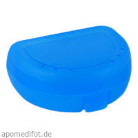 Zahnspangenbox Small Farbe Hellblau Transparent, 1 ST, Megadent Deflogrip Gerhard Reeg GmbH