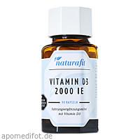 Naturafit Vitamin D3 2000 I.E., 90 ST, Naturafit GmbH