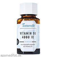 Naturafit Vitamin D3 4000 I.E., 90 ST, Naturafit GmbH