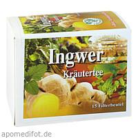 Ingwer Kräutertee CHRÜTERMÄNNLI, 15 ST, Pharma Brutscher
