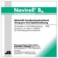 Novirell B6 25mg Injektionslösung, 10X2 ML, Sanorell Pharma GmbH & Co. KG