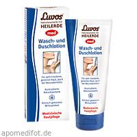 Luvos Naturkosmetik MED Wasch- und Duschlotion, 200 ML, Heilerde-Gesellschaft Luvos Just GmbH & Co. KG