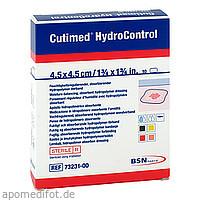 Cutimed HydroControl 4.5x4.5cm, 10 ST, Bsn Medical GmbH
