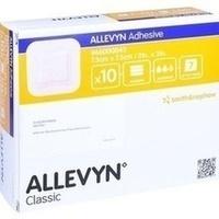 ALLEVYN Adhesive 7.5x7.5 cm haftende Wundaufl., 10 ST, B2b Medical GmbH