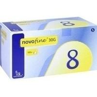 NOVOFINE 8 Kanülen 0.30x8 mm, 100 ST, B2b Medical GmbH