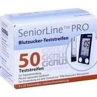 SeniorLine PRO Cignus Blutzucker-Teststreifen, 2X25 ST, Cignus HealthCare GmbH