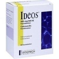 IDEOS 500 mg/400 I.E. Kautabletten, 90 ST, Orifarm GmbH